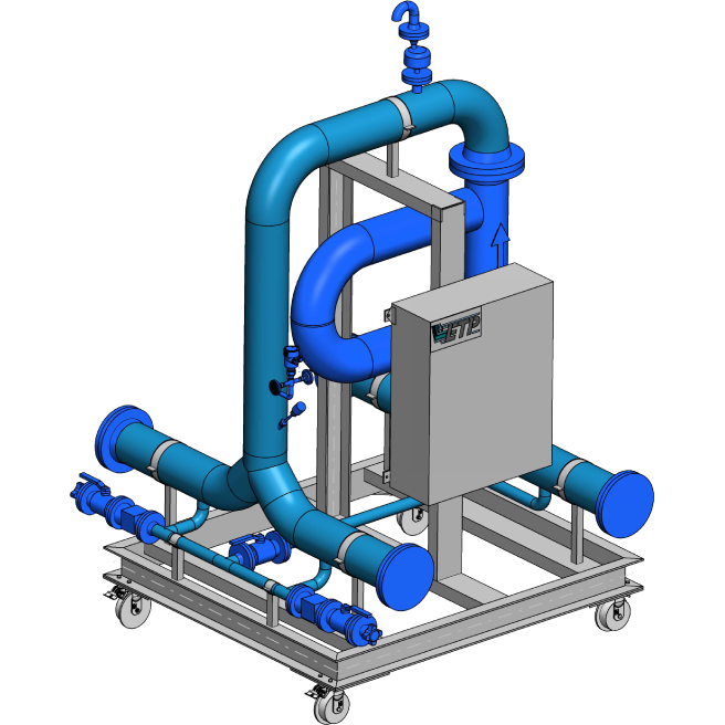 ETP – modular and scalable skid components, individually